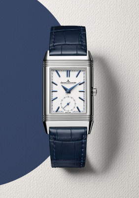 Jaeger LeCoultre Watch Reverso Tribute with a duoface front - available at Weir & Sons Ireland