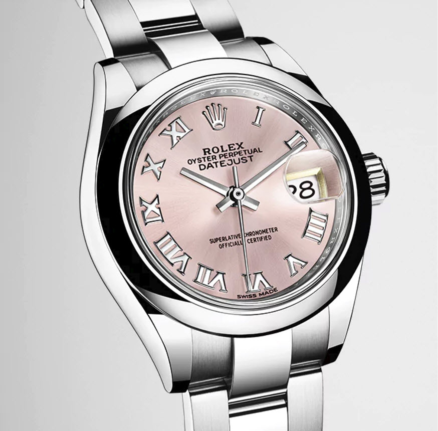 Rolex Lady Datejust 28 Pink Dial 2017