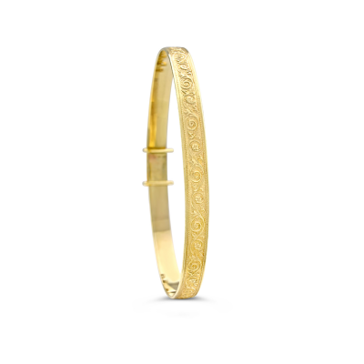 gold baby bangle Weir & Sons, Keepsake