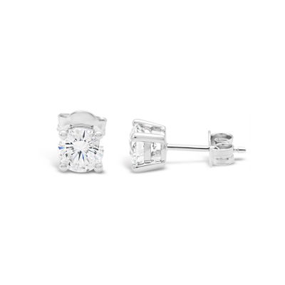 1.56ct Diamond Stud Earrings