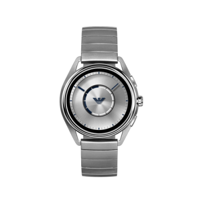 Armani Stainless Steel Touchscreen Smartwatch, €419