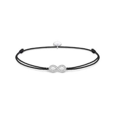 Thomas Sabo Sterling Little Secrets Crystal Infinity Nylon Bracelet, €39