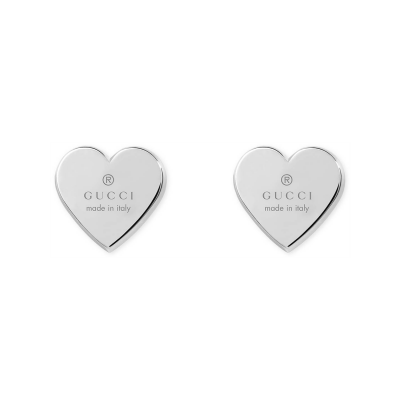 Gucci Heart Studs