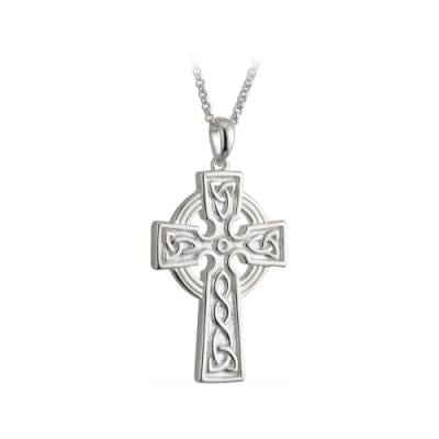 Sterling Silver Celtic Cross, €105