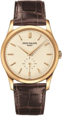 How to buy a watch Guide by Weir & Sons - Patek Phillipe Calatrava design luxury watch with leather strap
