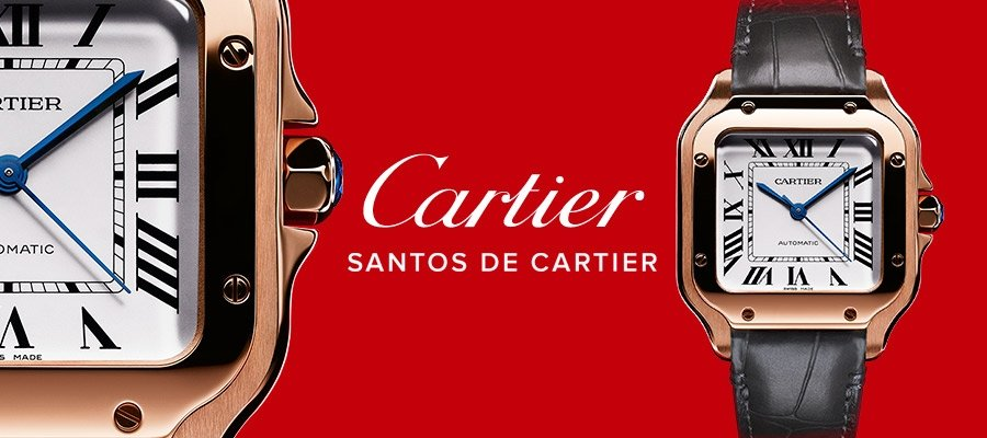 CARTIER WATCHES AT WEIR AND SONS