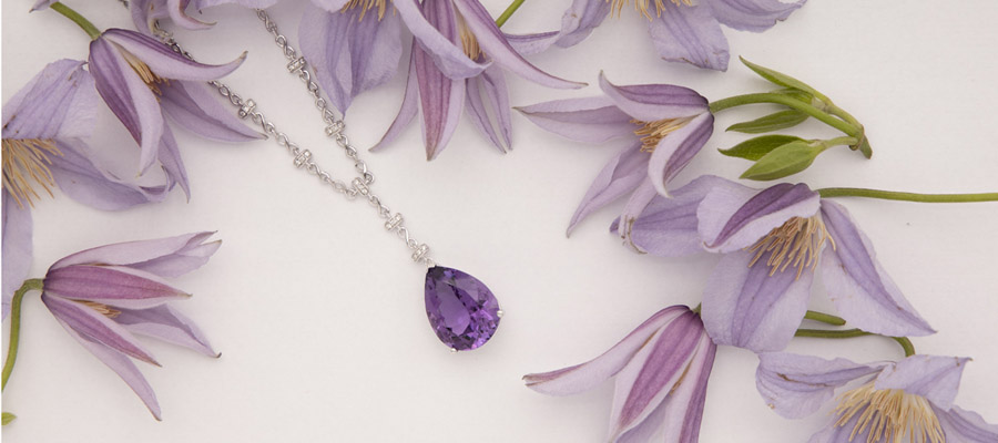 Amethyst Jewellery at Weir and Sons