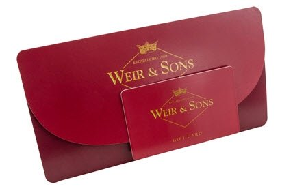 Gift Cards for Weir & Sons
