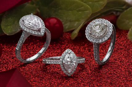 ENGAGEMENT rings at Weir & Sons